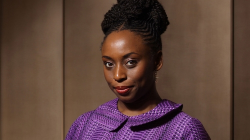 Author Chimamanda Ngozi Adichie photographed at One Aldwych.