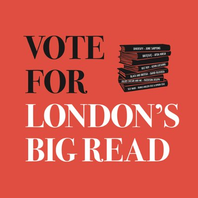 Get your read on with London's Big Read!