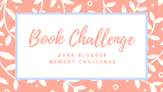 The Book Blogger memory challenge   Just Read It